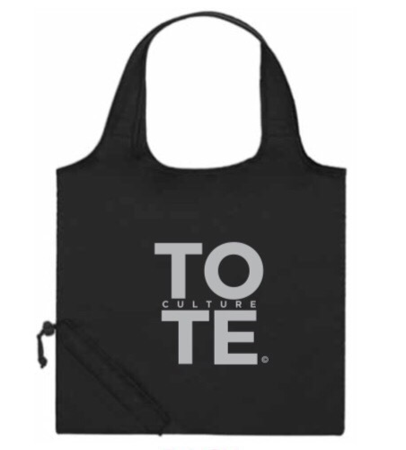 Tote Culture FreeStyle Abstract Painted Design
