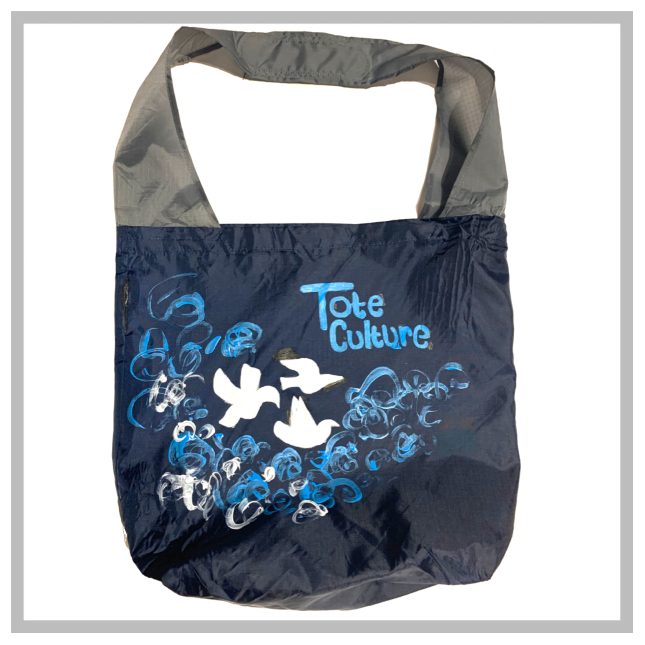 Tote Piece FreeStyle Painted Messenger Coming Soon